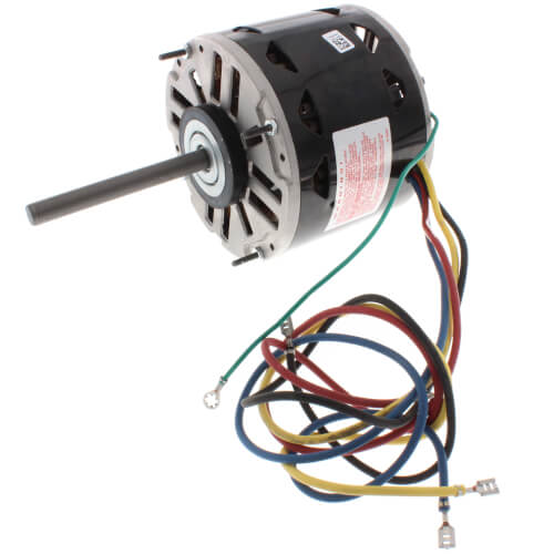 """5-5/8"""" 3-Speed Fan/Blower Motor w/ Internal Capacitor (115V, 1050 RPM, 1/5 HP) Product Image"""