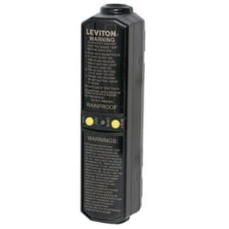 In-Line User-Attachable GFCI Plug, Automatic Reset, Grounded, 20A, 120V Product Image
