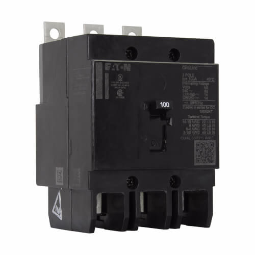 Series C Complete Molded Case Circuit Breaker (20A, 125/250V) Product Image
