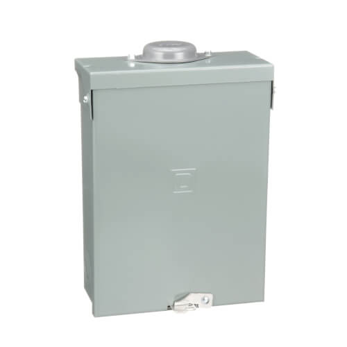 Homeline 12 Circuit Outdoor Main Lug Load Center, 6 Space, 120/240V (100A) Product Image