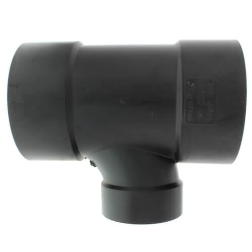 "6"" x 6"" x 4"" Hub ABS DWV Sanitary Tee (5811R) Product Image"