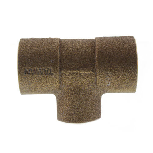 """1"""" x 3/4"""" Bronze Monoflo Tee Product Image"""