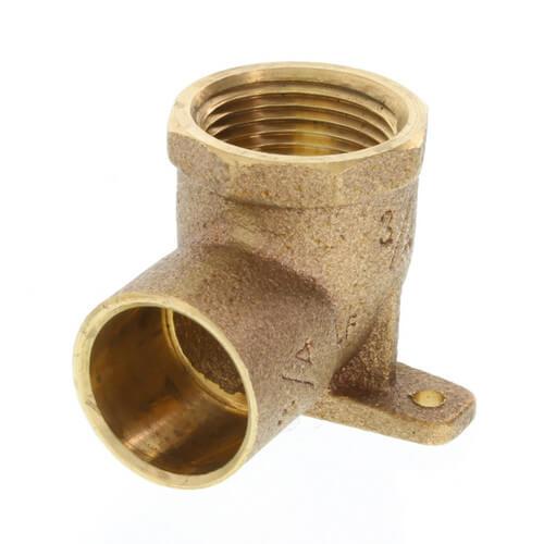 "3/4"" CxF 90° Drop Ear Elbow (Lead Free) Product Image"