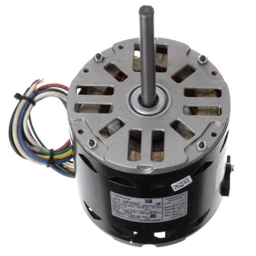 "5-5/8"" Single Shaft Fan/Blower Motor (115V, 1050 RPM, 1/3 HP) Product Image"