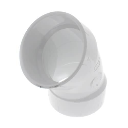 "4"" PVC DWV 45° Elbow Product Image"