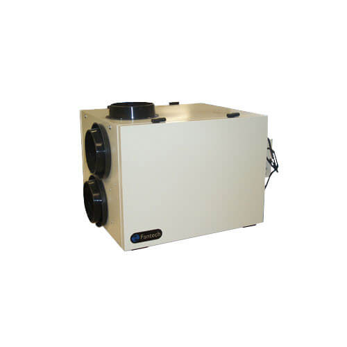 """SHR Series Heat Recovery Ventilator w/ Recirculation Defrost, 8"""" Side Ports (up to 5,800/6,600 Sq. Ft.) Product Image"""