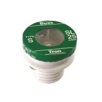 15 Amp Time Delay Loaded Link Rejection Base Plug Fuse (125V) Product Image
