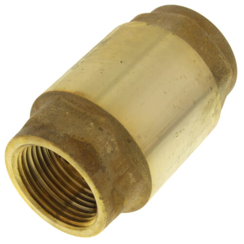 """3/4"""" Threaded Spring Loaded Check Valve, Lead Free Product Image"""