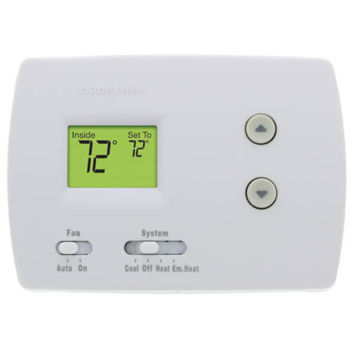 Pro Non-Programmable, 2H/1C, Standard Display Thermostat Product Image