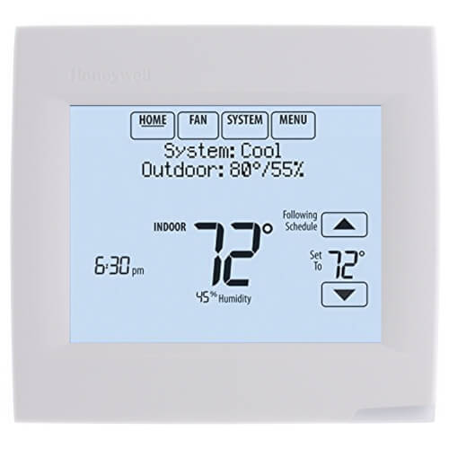 VisionPRO 8000 w/ RedLINK Technology, Programmable, 3H/2C, Touchscreen Thermostat Product Image