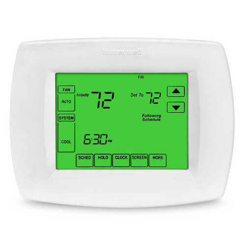 VisionPro Programmable, 3H/2C, Touchscreen Thermostat Product Image