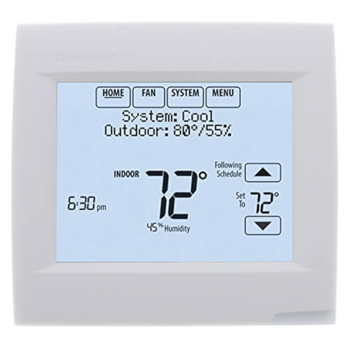 VisionPRO 8000 w/ RedLINK & IAQ Contacts, Programmable, 3H/2C, Touchscreen Thermostat Product Image