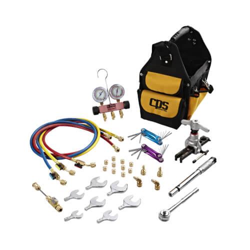 R410A Universal Ductless Mini-Split Service Tool Kit Product Image