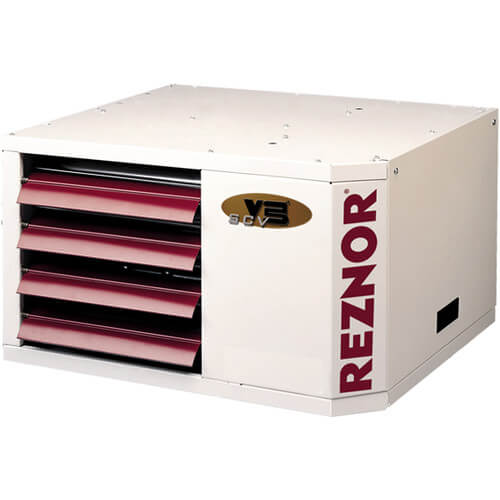 UDAS-225 Direct Vented Separated Combustion Gas Fired Unit Heater w/ Vertical Roof Vent Kit - 225,000 BTU Product Image