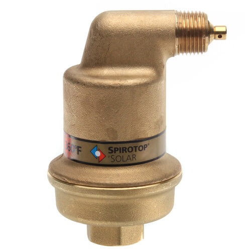 """1/2"""" Spirotop Air Release Valve High Temp (Threaded) Product Image"""