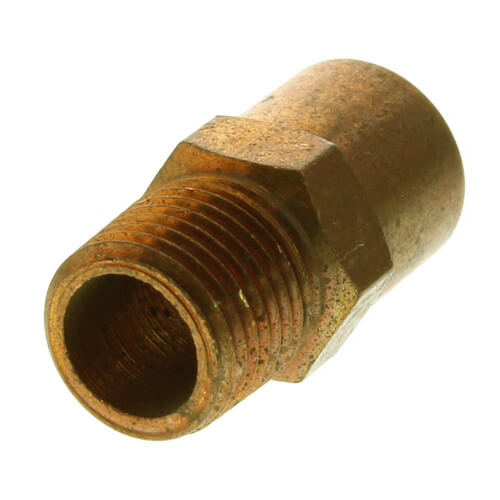 """1/4"""" x 1/8"""" Copper x Male Adapter Product Image"""