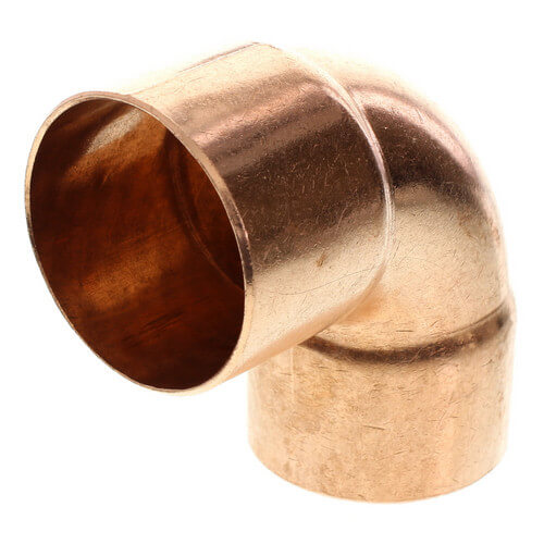 """1-1/2"""" Copper 90° Elbow Product Image"""